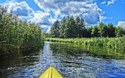 Kayaking in Poland