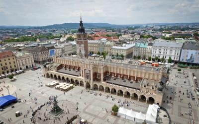 Old town in Krakow