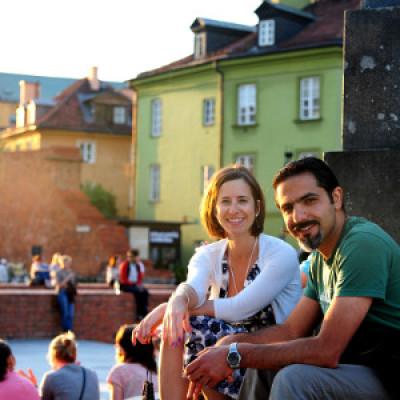 Polish tourists