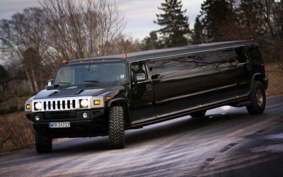 Luxury limousines in Warsaw